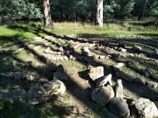 Labyrinth in Stewarts Reserve