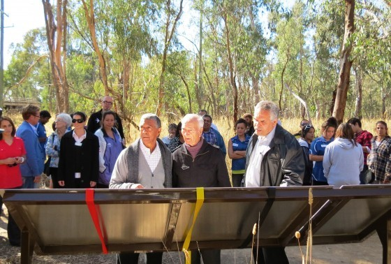 The Flats Interpretative signage launch - May 2013
