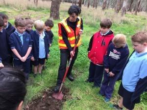 Mooroopna Primary School planting 2015