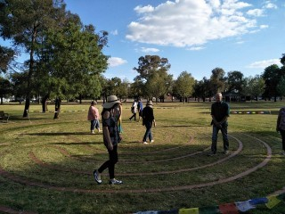 Labyrinth at Stuart Reserve