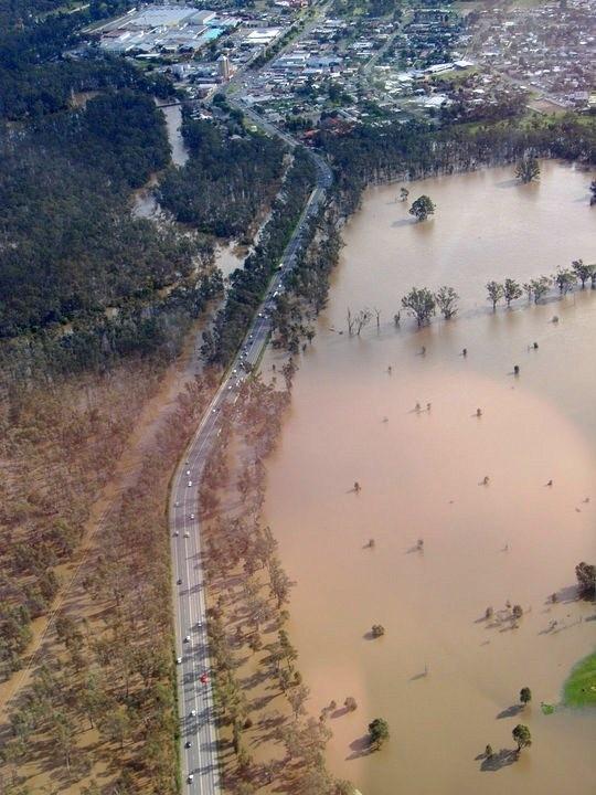 Peter Ross Edwards Casueway - 2010 Floods