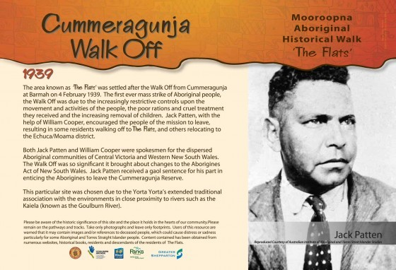 Cummeragunja Walk Off 1939
