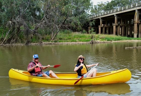 Councillors canoeing - December 2015