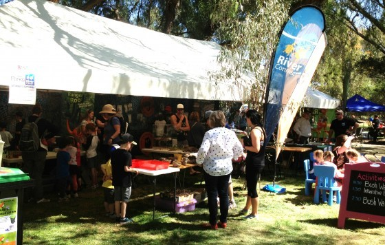 RiverConnect and Parks Victoria Tent - KidsFest 2015